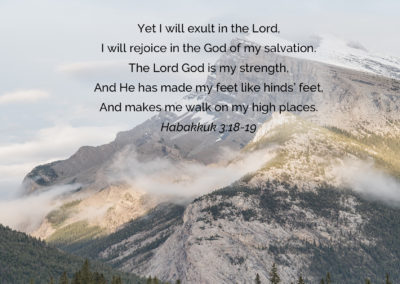 Habakkuk 3:18-19