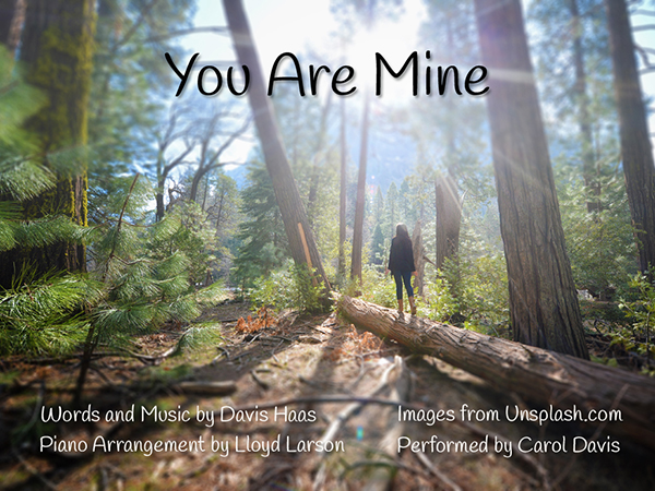 Title Page for You Are Mine